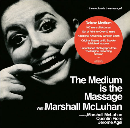 The Medium is the Massage CD reissue artwork